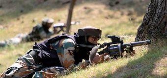 सुरक्षाबलों ने मुठभेड़ में दो आतंकवादियों को किया ढ़ेर