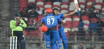 अफगानिस्तान ने टी-20 में तोड़ा रिकॉर्ड, जानिए कितने रन बनाए