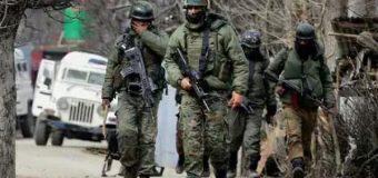 जम्मू-कश्मीर में सुरक्षाबलों ने लश्कर के दो आतंकियों को मार गिराया