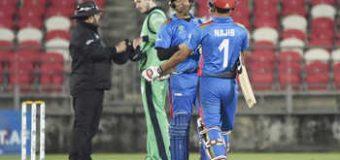 आयरलैंड ने अफगानिस्तान को हराया, एंड्रयू बालबर्नी ने जड़ा शानदार शतक