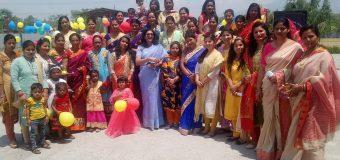 लक्ष्य यूनिवर्सल अकैडमी में आयोजित हुआ कार्यक्रम