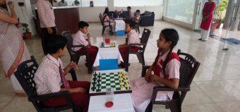 लक्ष्य यूनिवर्सल एकेडमी में हुआ शतरंज प्रतियोगिता का आयोजन