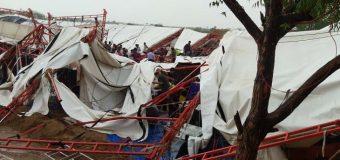 राजस्थान में पंडाल गिरने से 14 लोगों की मौत, 50 घायल