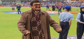 रणवीर सिंह ने स्टेडियम में मनाया भारत की जीत का जश्न