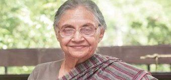 लम्बी बीमारी के बाद शीला दीक्षित का निधन