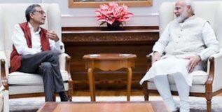 नोबेल विजेता बनर्जी ने की पीएम मोदी से मुलाकात