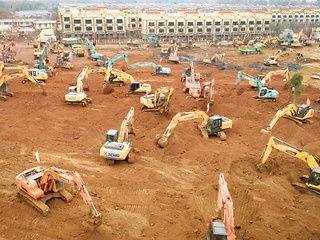 कोरोना वायरस के मरीजों के लिए 10 दिन में विशेष अस्पताल बनाएगा चीन, शुरू हुआ निर्माण कार्य