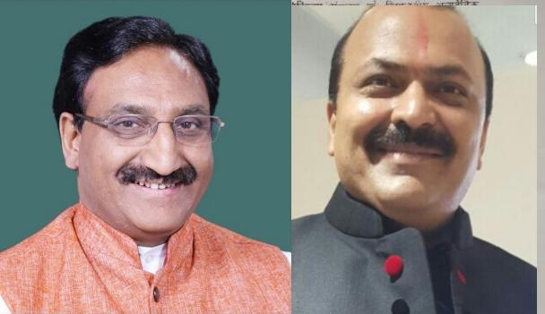 रमेश पोखरियाल 'निशंक' (बाएं) एवँ मनीष वर्मा (दाएं) फाइल फ़ोटो