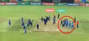 बांग्लादेशी प्लेयर ने भारतीय खिलाड़ियों से की बदसलूकी, जीत के जश्न में खोया आपा