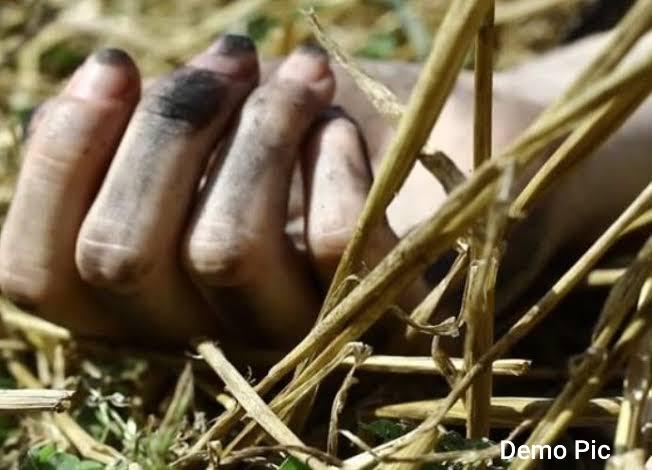 गन्ने के खेत में महिला का अर्धनग्न शव मिलने से हड़कंप, जाँच में जुटी पुलिस