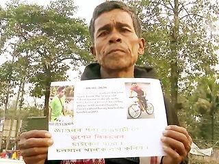 साइकिल से 600 किमी का सफर तय कर सलमान से मिलने पहुंचा फैन