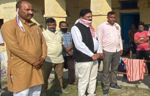 भाजपा नेता नरेन्द्र प्रसाद आगरी ने ग्रामीण क्षेत्रों का भ्रमण कर क्वारंटीन सेंटरों का लिया जायज़ा