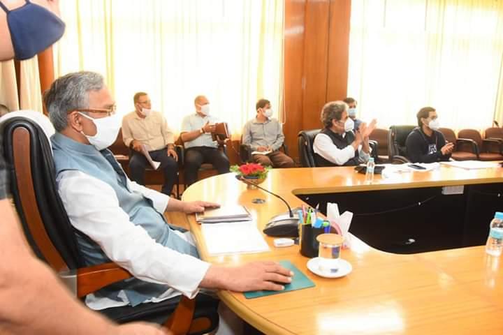 मुख्यमंत्री त्रिवेन्द्र ने स्कूल ऑफ सिनेमेटिक स्टडिज की स्थापना करते हुए फिल्म शिक्षा पर कोर्स प्रारम्भ करने के दिए निर्देश
