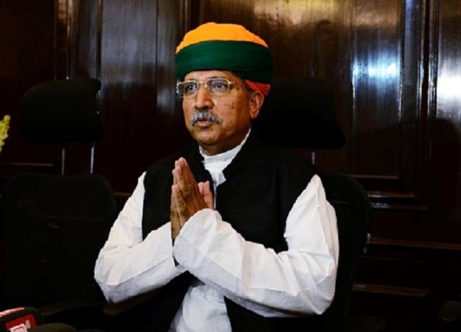 केंद्रीय मंत्री अर्जुन राम मेघवाल पाए गए कोरोना पॉजिटिव, एम्स में हुए भर्ती