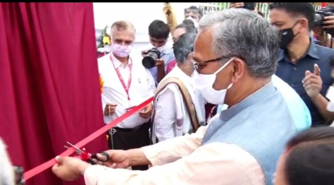 मुख्यमंत्री त्रिवेंद्र ने ऋषिकेश में एम्स के नव निर्मित हेलीपैड का किया उद्घाटन, कही ये बात