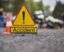 सड़क दुर्घटना में यात्री की मौत