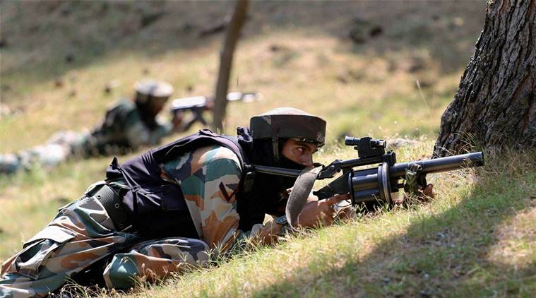 सुरक्षा बलों ने कश्मीर में दो आतंकियों को किया ढ़ेर