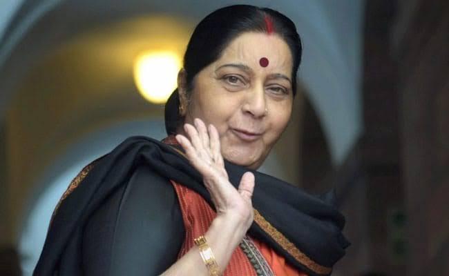 सुषमा ने कहा-''हमारे और दूसरों के शीर्षक का अंतर समझें