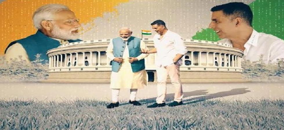अक्षय कुमार ने किया पीएम का इंटरव्यू, मोदी ने खोले दिल के कई राज