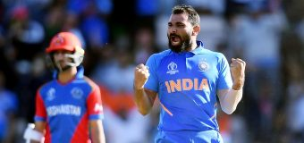 शमी की हैट्रिक ने दिलायी टीम इंडिया को जीत