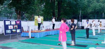 एफआरआई में मनाया गया अंतरराष्ट्रीय योग दिवस
