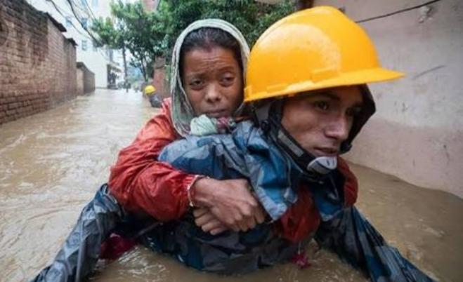 नेपाल में बाढ़ और भूस्खलन से अबतक 17 लोगों की मौत