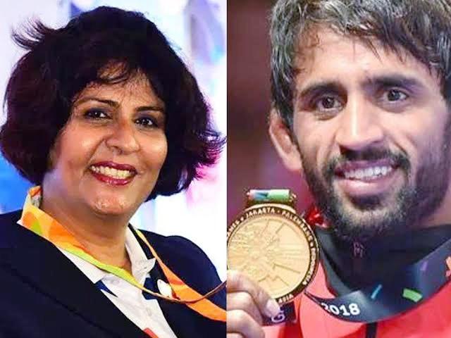 राजीव गांधी खेल रत्न से सम्मानित हुए दीपा मलिक और बजरंग पूनिया