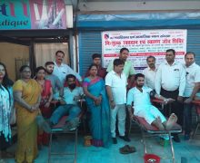 डेंगू से बचाव के लिए किया रक्तदान एवं स्वास्थ्य शिविर का आयोजन